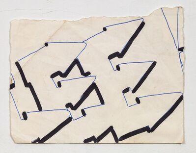 Lee Quinones, 'Lee Font Study #2', 1980