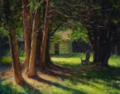 Carl Bretzke, 'Backwoods Cabin and Chair', 2018