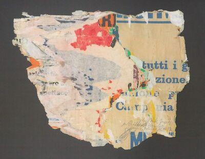 Wolf Vostell, 'tutti', 1955
