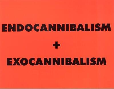 Sterling Ruby, 'ENDOCANNIBALISM + EXOCANNIBALISM', 2016
