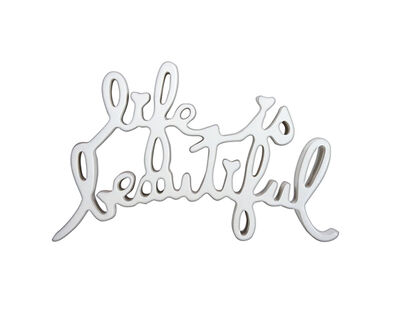 Mr. Brainwash, 'Life is Beautiful (White)'