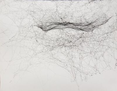 Tomás Saraceno, 'Semi social mapping of NGC598 by three Cyrtophora citricola, four weeks', 2015