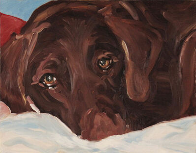 Sheila Wedges, 'Chocolate Lab', ca. 2010
