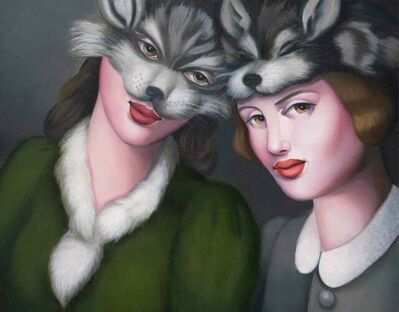 Rachel Deacon, 'Wolf Skin', 2021