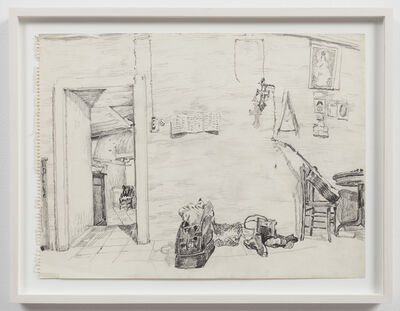 Paul Thek, 'Untitled (studio interior)', ca. 1970