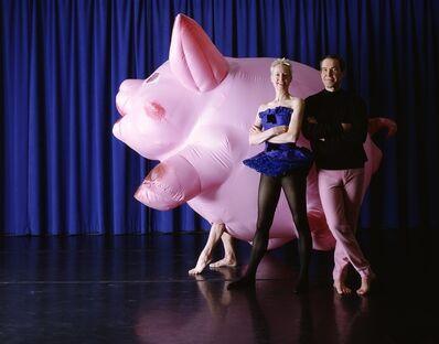 Jeff Koons, 'Inflatable Pig Costume', 1988/1989