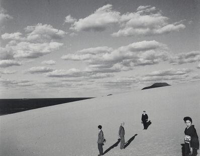 Shoji Ueda, 'My wife in the dunes (III)', 1950