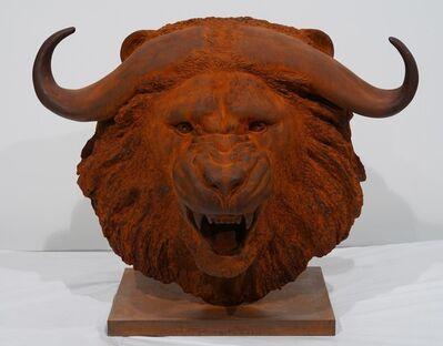 Mauro Corda, 'Tête lion-buffle', 2019