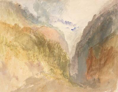 J. M. W. Turner, 'A Mountain Gorge', 1836-1840
