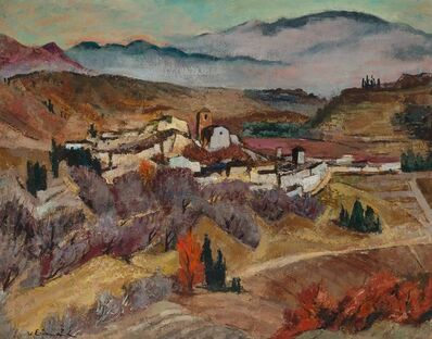 Willy Eisenschitz, 'Pyrenees Town'