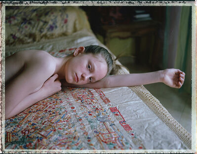 Cristina Fontsare, 'Lucia at 14 - Contemporary, Polaroid, Photograph, Figurative, Childhood, Boys, 21st Century', 2018