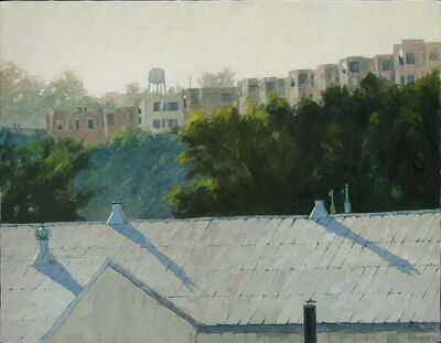 Eileen David, 'Rooftop with Shadows', 2004