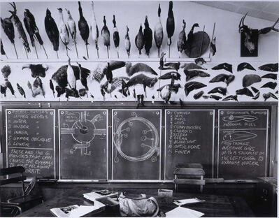 Catherine Wagner, '7th & 8th Grade Science Classroom, Moss Landing Elementary School', 1984