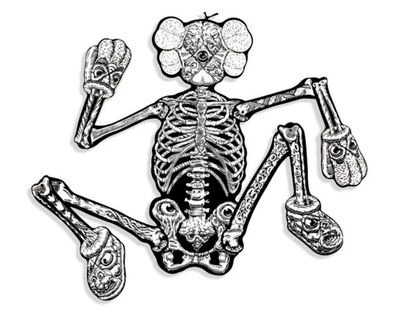 KAWS, 'KAWS x MARK DEAN VECA Companion Skeleton', 2008