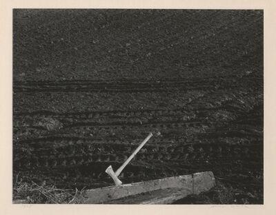 Minor White, 'Ax in Plowed Field', 1948