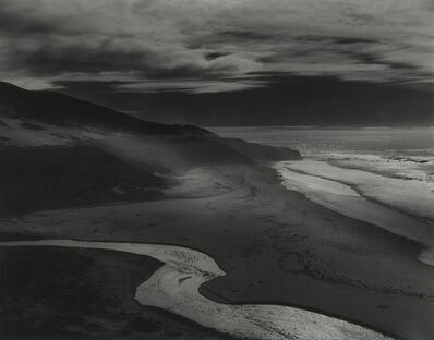 Brett Weston, 'Little Sur River', 1983