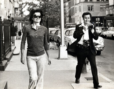 Ron Galella, 'Jacqueline Kennedy and Ron Galella, New York', 1971