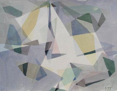 Ted Davis, 'Shining Sails, Monhegan Harbor, Maine', 1977