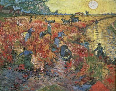 Vincent van Gogh, 'The Red Vineyard at Arles', 1888