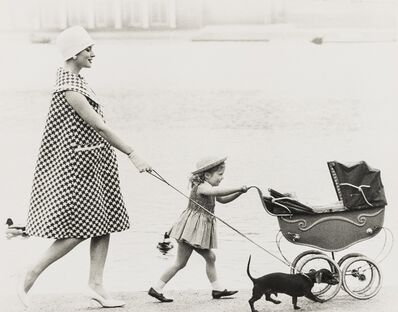 Norman Parkinson, 'Going For a Stroll, A Collection of Five Editorial Photographs', 1955-1959