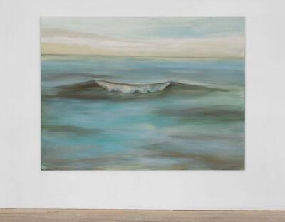 Guillaume Leblon, 'Still wave (green)', 2016
