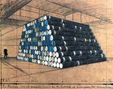 Javacheff Christo, 'Philadelphia Mastaba', Unknown