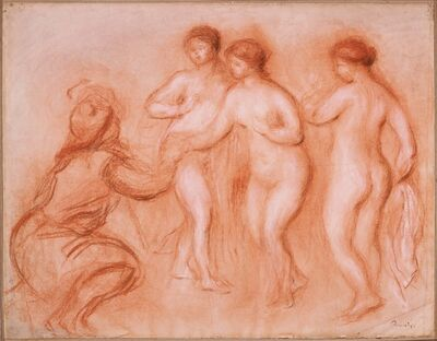 Pierre-Auguste Renoir, 'The Judgement of Paris', ca. 1908
