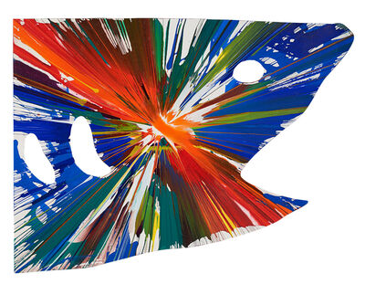 Damien Hirst, 'Shark Spin Painting (Created at Damien Hirst Spin Workshop)', 2009