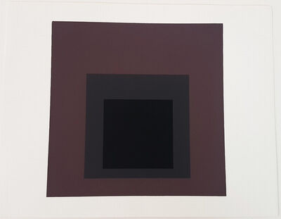 Josef Albers, 'Homage to the Square: Pompeian', 1962