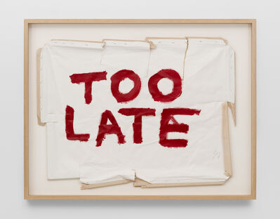 Thierry Geoffroy /COLONEL, 'TOO LATE, 17th May, 2018', 2018