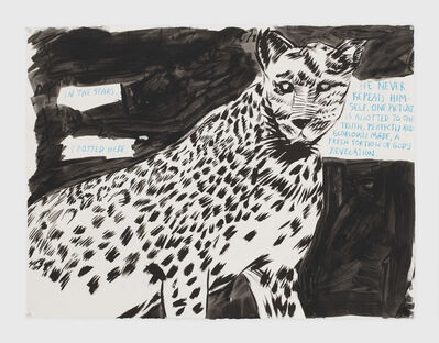 Raymond Pettibon, 'No Title (In the stars. ...)', 2019