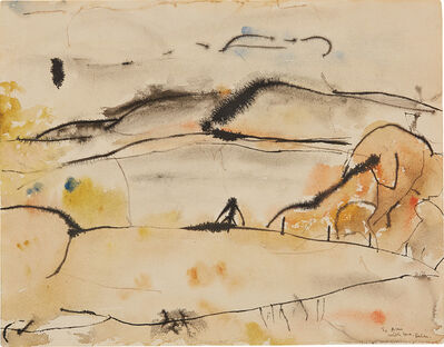 Helen Frankenthaler, 'Cape Breton', 1952