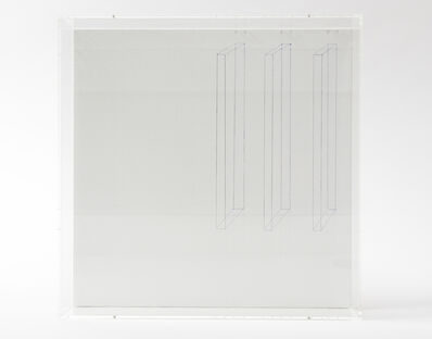 Norihiko Terayama, 'Three Blue Boxes', 2019