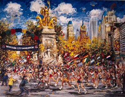 "Kamil Kubik, '""New York City Marathon, 1998""'"
