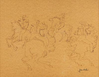 Jean Dufy, 'Fantaisie Equestre'