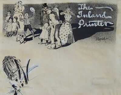 Joseph Christian Leyendecker, 'The Inland Printer', 1897