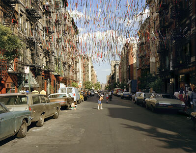 Brian Rose, 'East 4th Street', 1980
