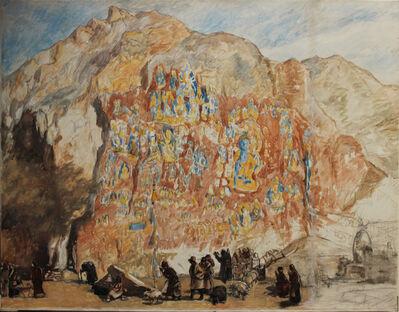 Pei Zhuangxin, 'Medicine Buddha Temple 藥王⼭', 1989