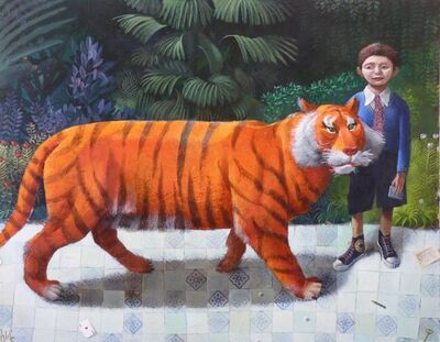 Sylvain Lefebvre, 'Jonathan and the Tiger', 2016