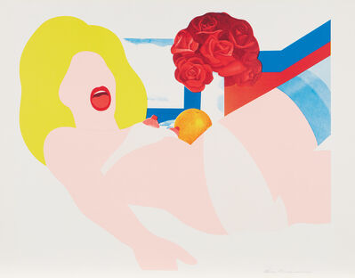 Tom Wesselmann, 'Look at Wesselmann, Nude with Still Life', 1968