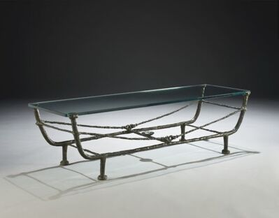 Diego Giacometti, 'Berceaucoffer table', ca. 1968