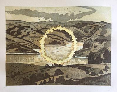 Donna Westerman, 'Ring of Fire/ Briones Reservoir', 2020