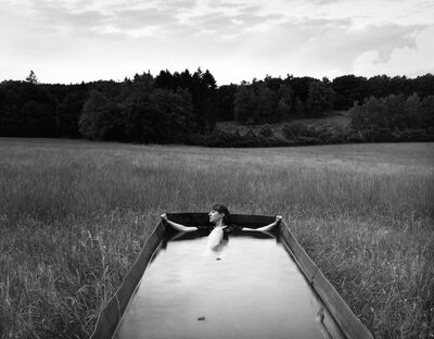Agnieszka Sosnowska, 'Rest, Self Portrait, Hoge Veluwe National Park, Holland', 2015