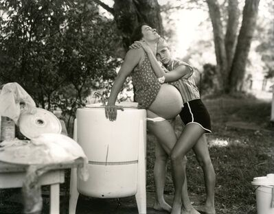 Sally Mann, 'Jenny and Leslie, 8 Months Pregnant', 1983-85