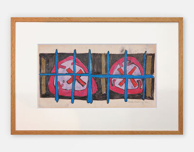Nicholas Krushenick, 'Untitled Drawing', 1960