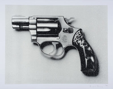 Russell Young, 'Elvis TCB Pistol', 2017