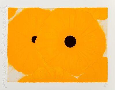 Donald Sultan, 'Six Yellows', 2004