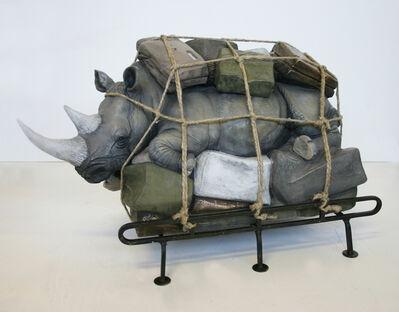 Stefano Bombardieri, 'Bagaglio Rinoceronte (Medium)', 2012