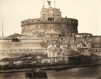 James Anderson, 'Castel Sant'Angelo, Rome', 1852