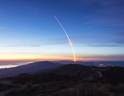 Kevin Cooley, 'Falcon 9 Launch (Diptych)', 2017